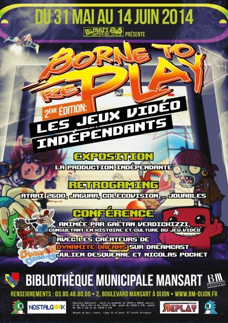 Affiche de Borne to Replay 2