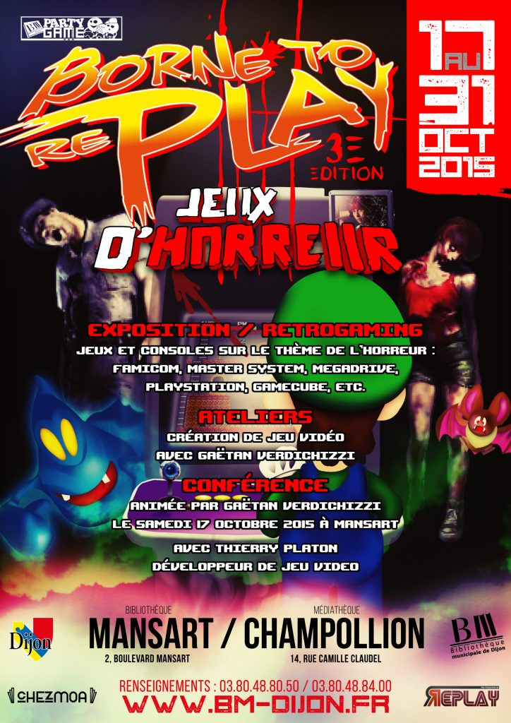 Affiche Borne to Replay 3