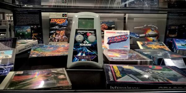 La version LCD du Gradius de Konami