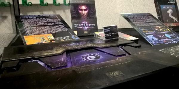 Le coffret de Starcraft II