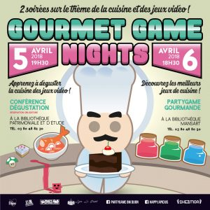 Visuel des Gourmet Game Nights