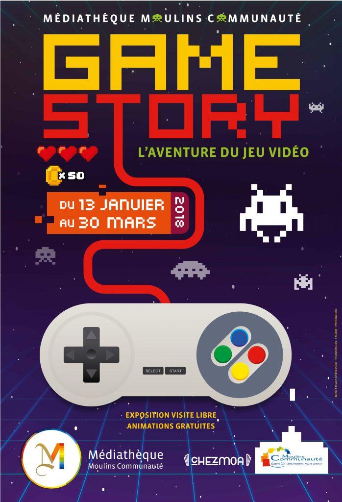 Affiche Game Story de Moulins