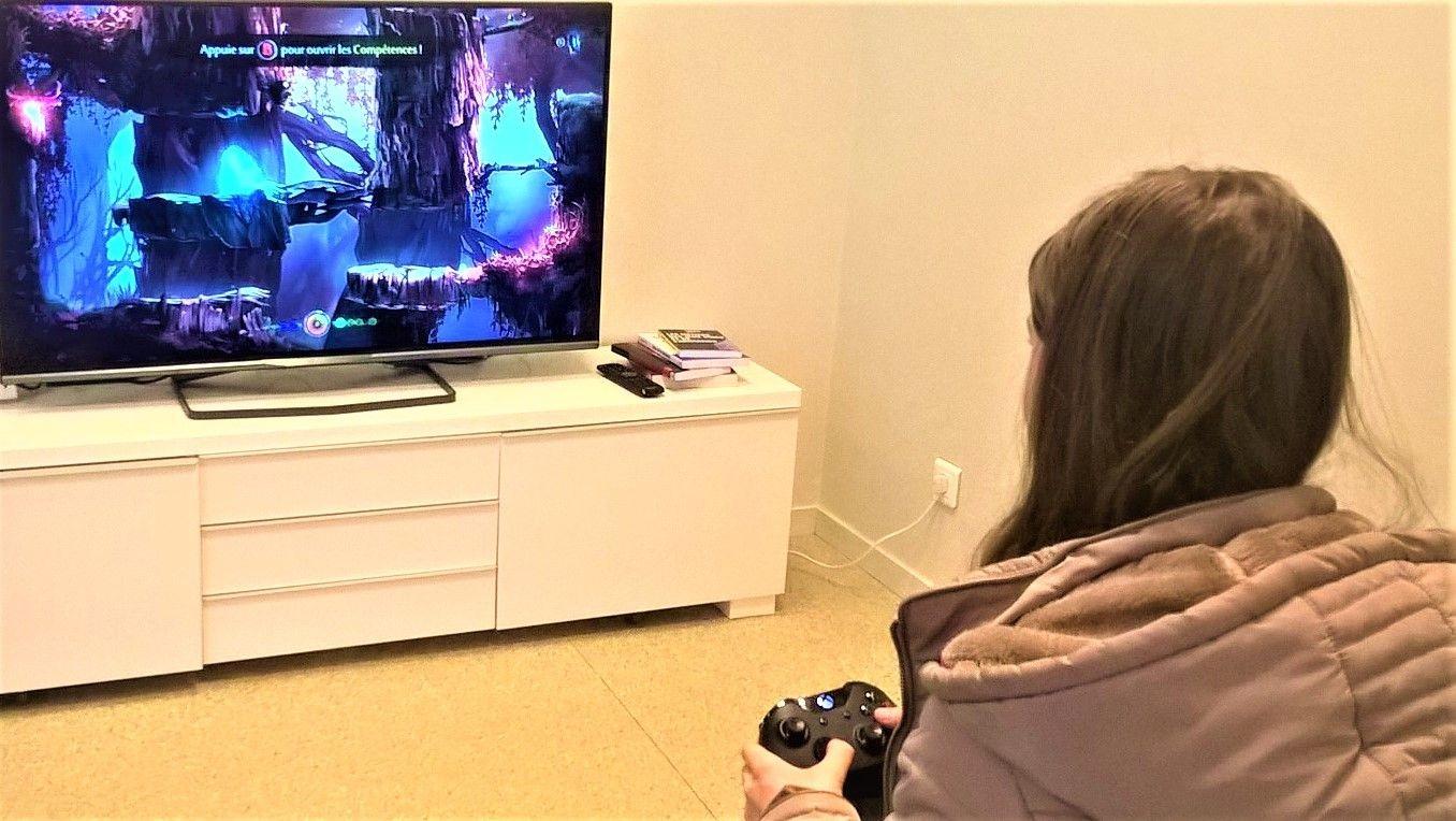 Découverte de jeux vidéo à la Médialude de Saint-Apollinaire